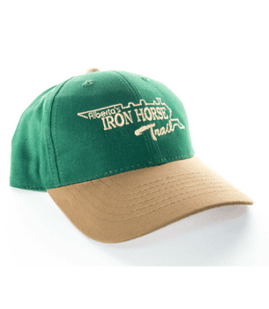 iron horse trail green tan hat