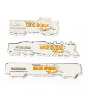 Iron Horse Trail Silver Geocache Coins
